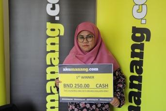 1st Prize - Siti NorYusmah binti Mustapa