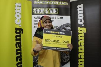 March - 2nd Winner