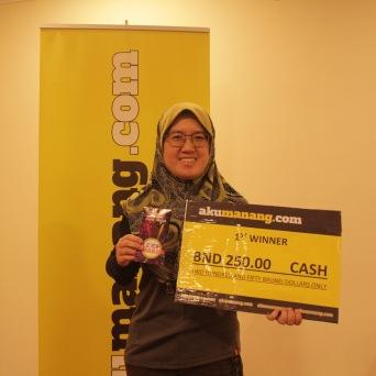 Hajah Surayati Haji Mohamad (1ST Winner)