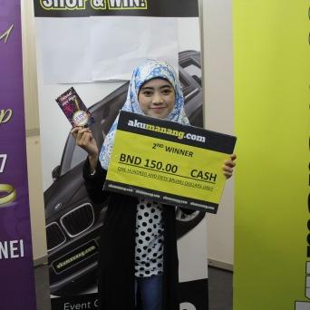 Nur Hidayatul Afifah Mohamad (2ND Winner)