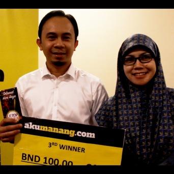 Pg. Md. Fakhri bin Pg. Hj. Ahmad (3RD Winner)