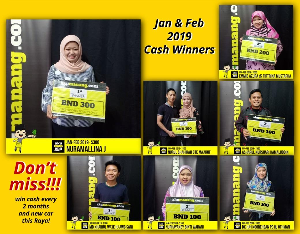 cash feb